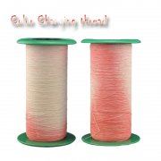 Temperature sensitive color-changing Yarn